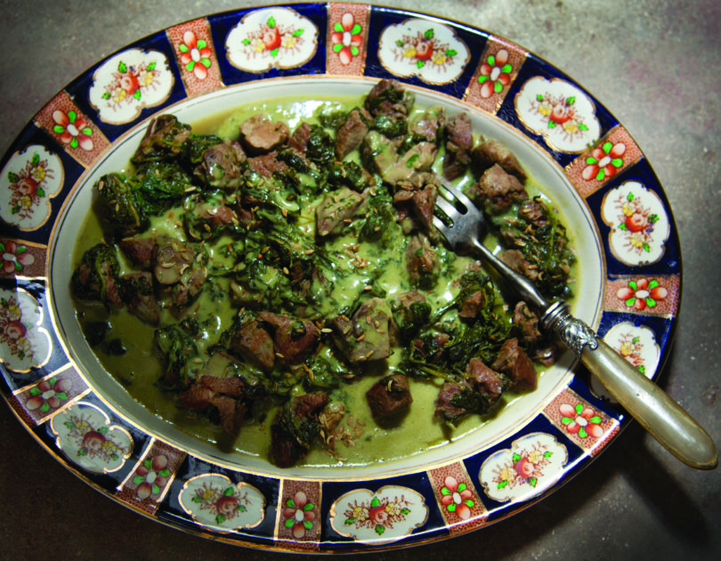 Lamb with Lemon and Dill Sauce