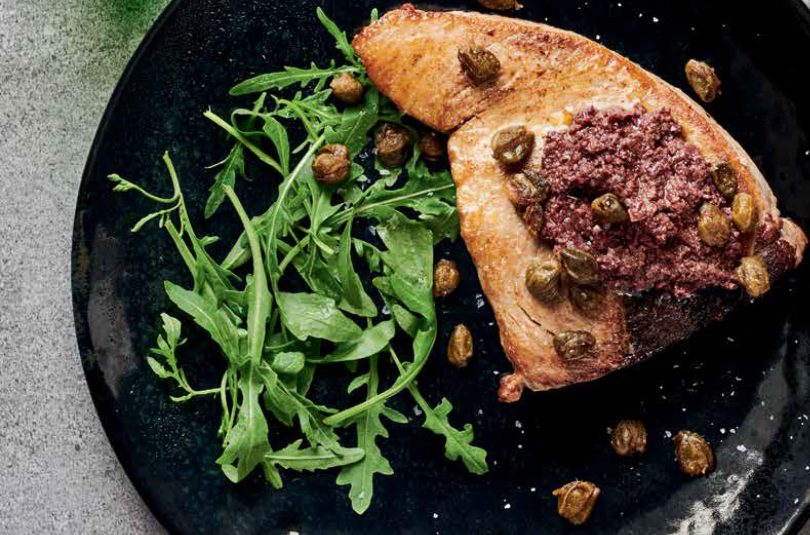 Tuna with Capers