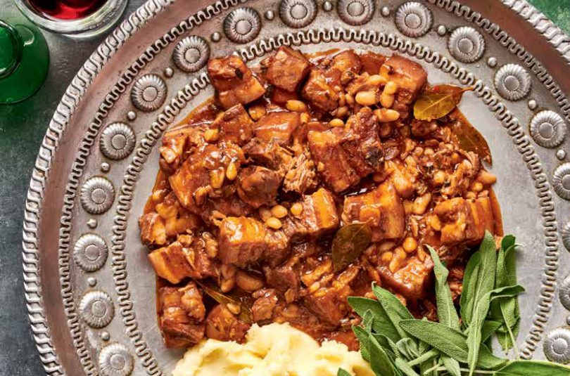 Pork and Cannellini Beans